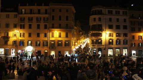 スペイン広場カウントダウン