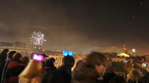 スペイン広場花火1