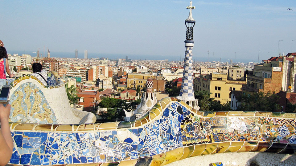 Barcelona-Guel-view