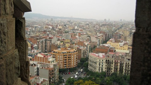 Barcelona-Sagrada-view