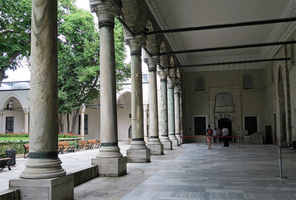 トプカプ宮殿柱
