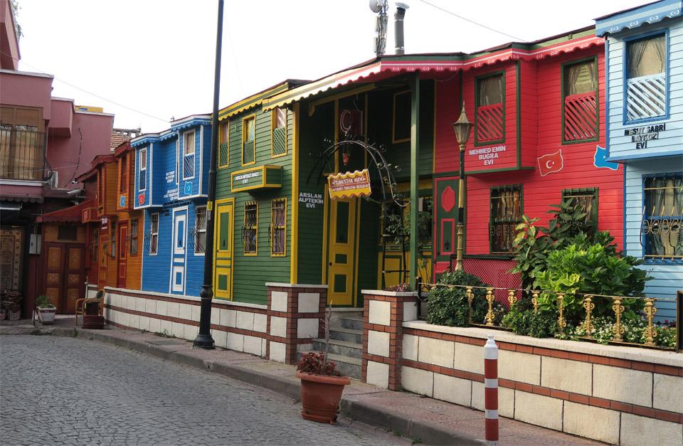ブルー・モスク裏の家