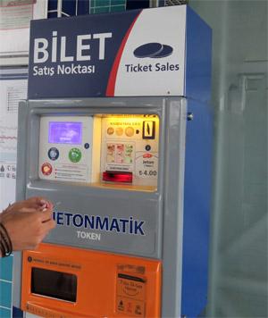 路面電車チケット