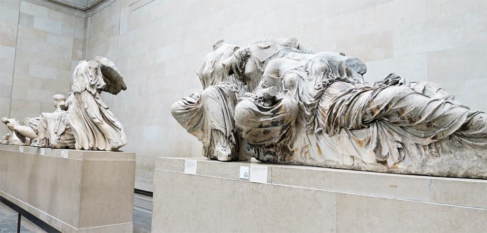 12.大英博物館 布の彫刻