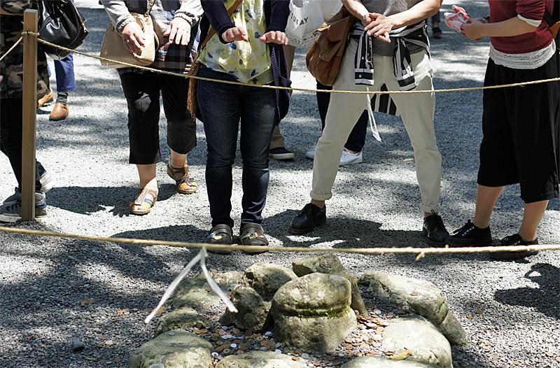 伊勢神宮外宮パワースポット三つ石