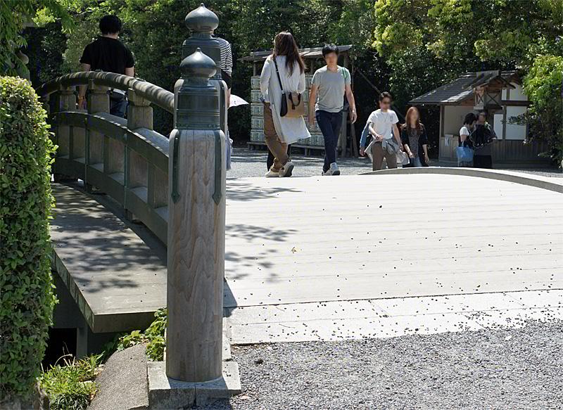 伊勢神宮外宮火除け橋