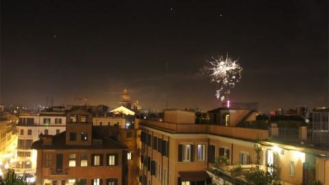 スペイン広場花火2