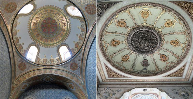 トプカプ宮殿天井12
