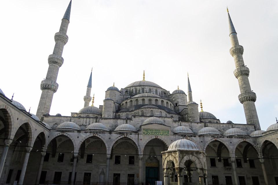 ブルー・モスク全景