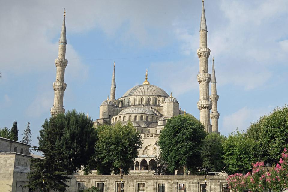 ブルー・モスク遠景