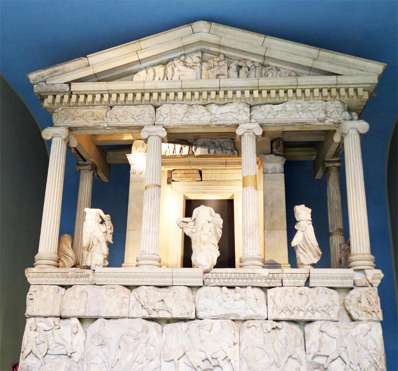 12.大英博物館 ギリシャ3体