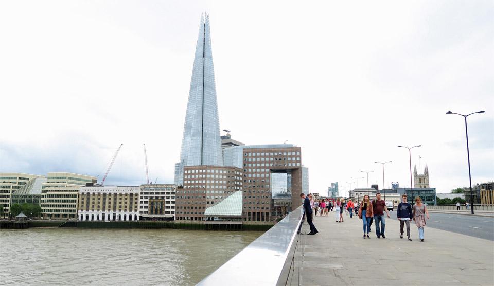 14.Theシャードとロンドン・ブリッジ