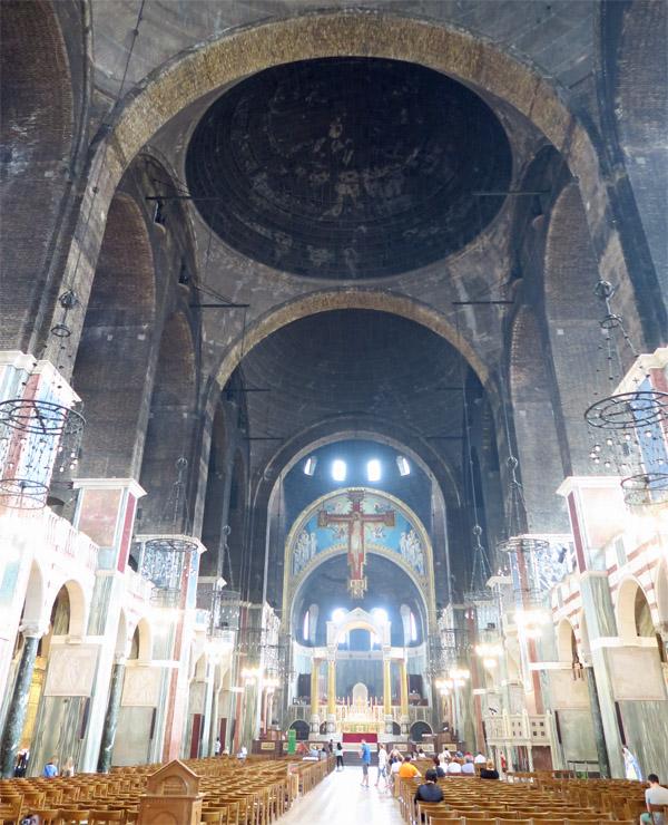 7.ウエストミンスター大聖堂 内部